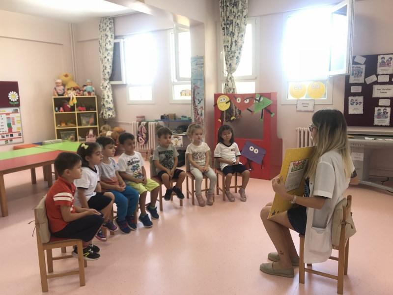 4 Yaş Sınıfımız da İngilizceyi İnteraktif Projelerle Öğreniyor