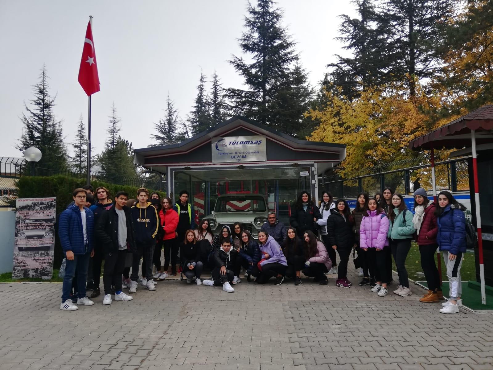10. Sınıflarımız Eskişehir Kültür Gezisindeydi