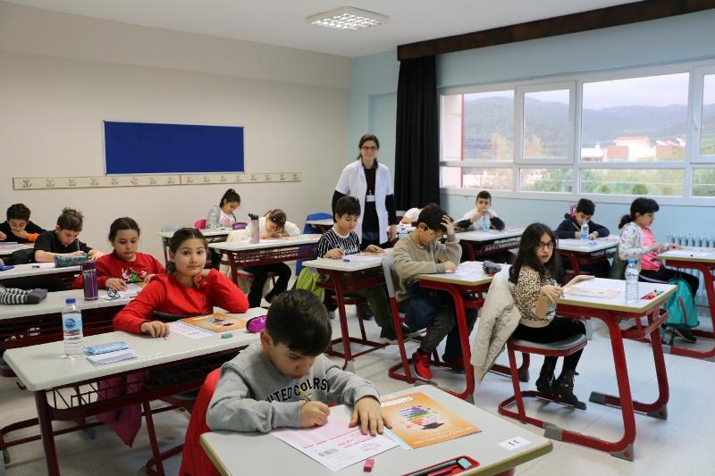 4. Sınıflar Bursluluk Sınavımız Başladı