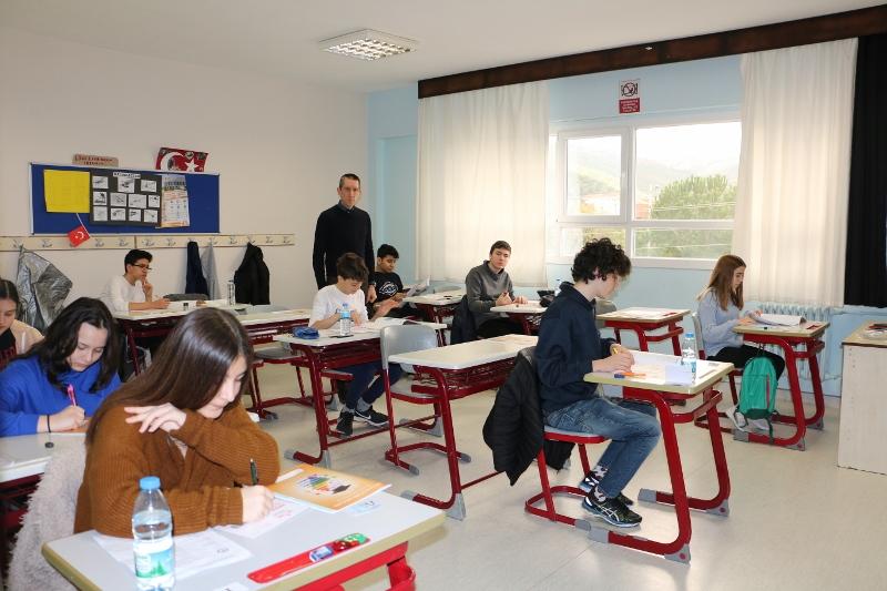 8. Sınıflar Bursluluk Sınavımız Başladı