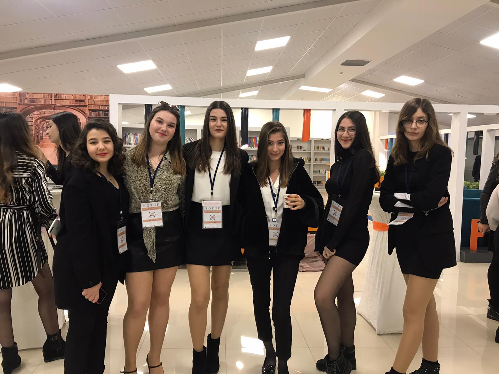 """Öğrencilerimiz, """"I. Rota Ulusal Gençlik Forumu ROTUF""""a Katıldı"""