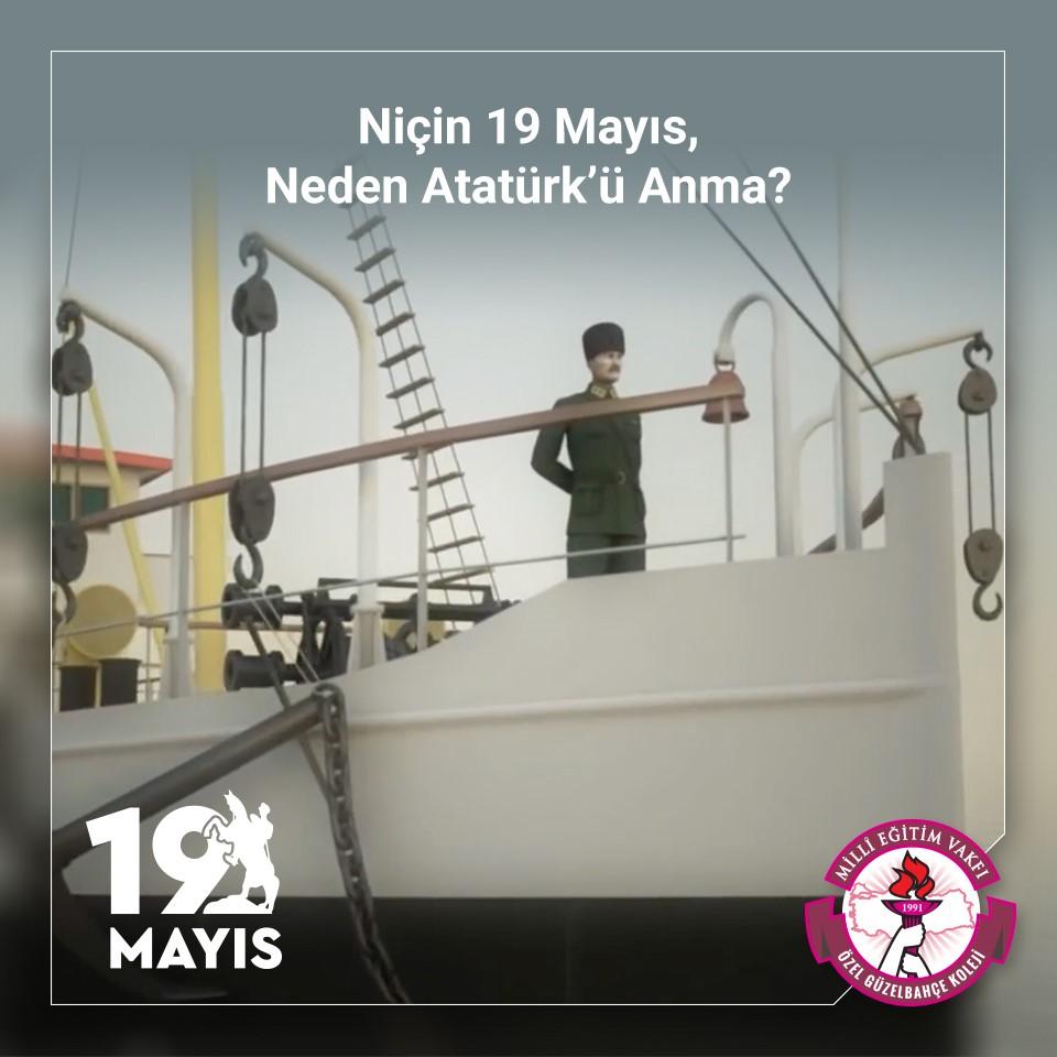 """""""Niçin 19 Mayıs, Neden Atatürk'ü Anma?"""""""