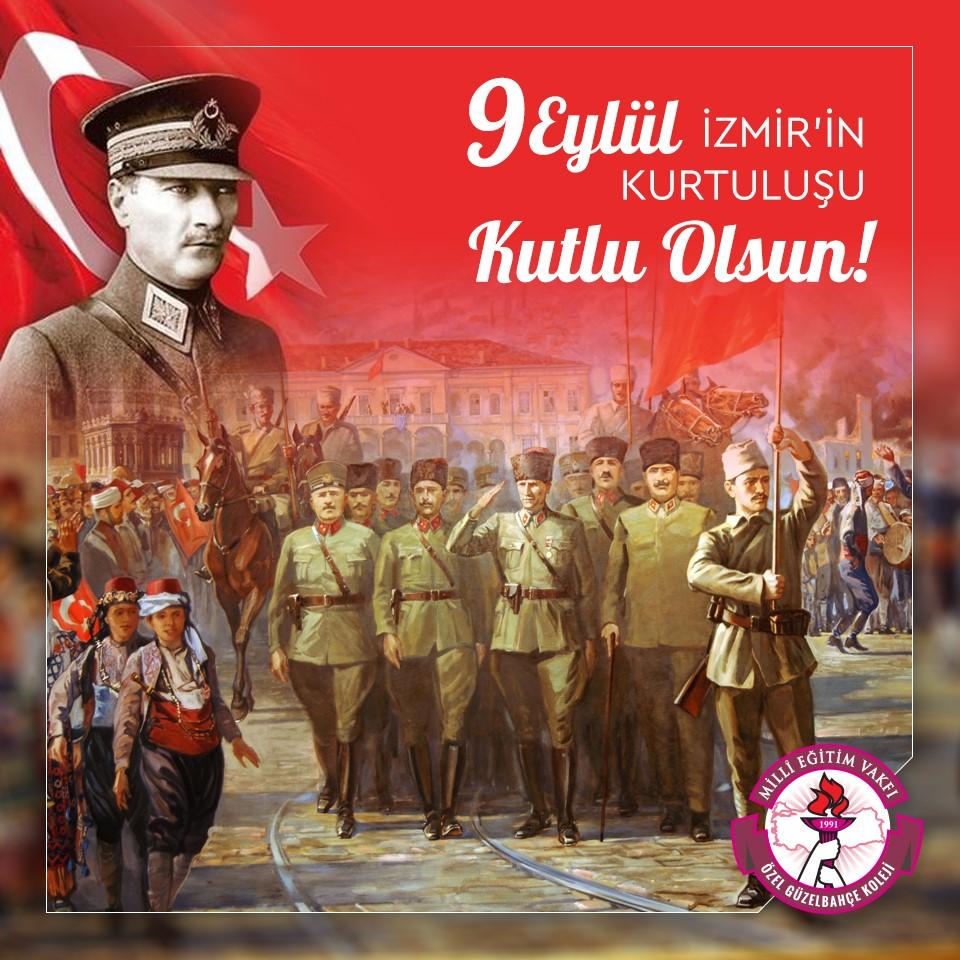 İzmir'imizin ve Türk Ulusunun Kurtuluşu Kutlu Olsun!