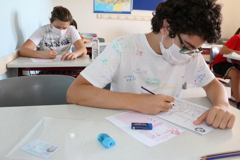 9. Sınıflarımıza İngilizce Seviye Tespit Sınavı Uygulandı