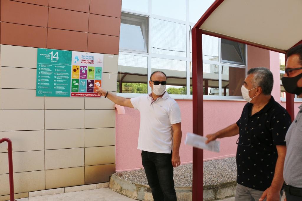 Güzelbahçe İlçe Milli Eğitim Müdürlüğünden Pandemi Dönemi Önlemlerimize Tam Not