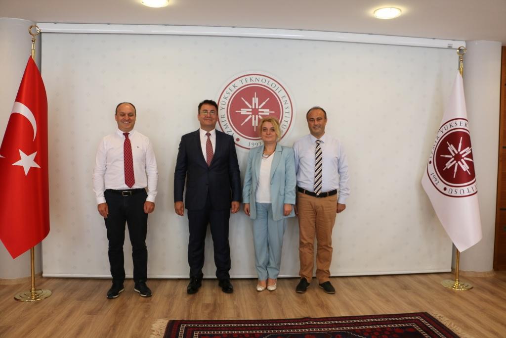 İzmir Yüksek Teknoloji Enstitüsü ile Bilimsel İşbirliği Protokolü İmzaladık