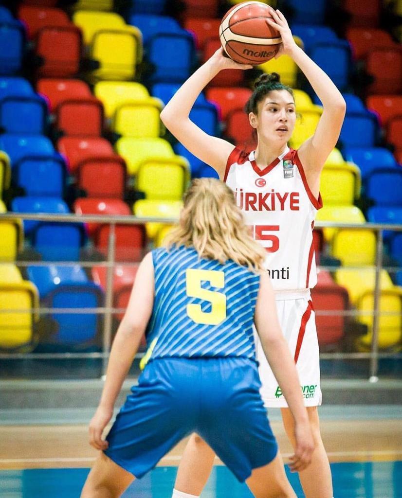 Öğrencimiz Derin Bulut, Türkiye Kadınlar Basketbol Birinci Liginde