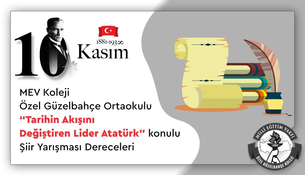 Tarihin Akışını Değiştiren Lider Atatürk