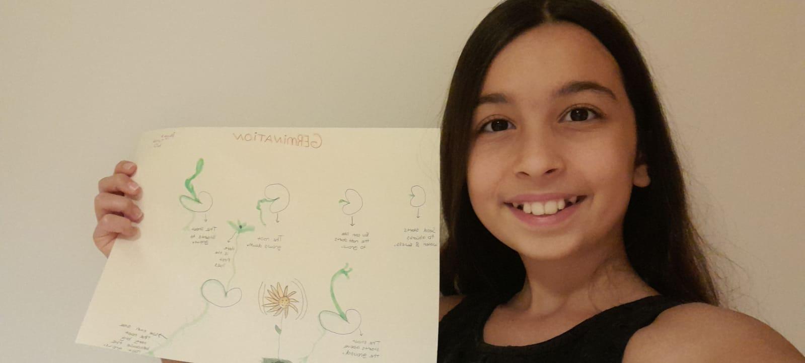6. Sınıflarımız Global Science Dersinde Bitkilerin Büyüme Sürecini Gözlemlediler