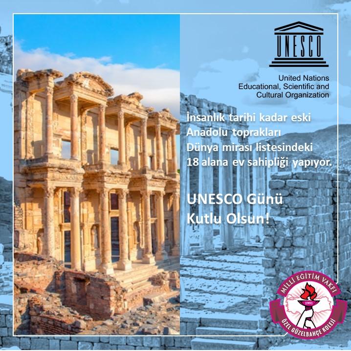 UNESCO Günü Kutlu Olsun!