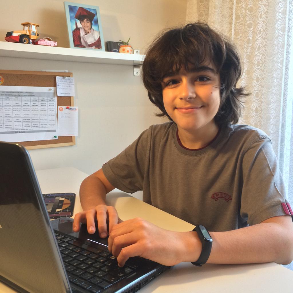 Öğrencimiz Çınar Bozkurt Bilgisayar Alanında Olimpiyat Eğitimi Alacak