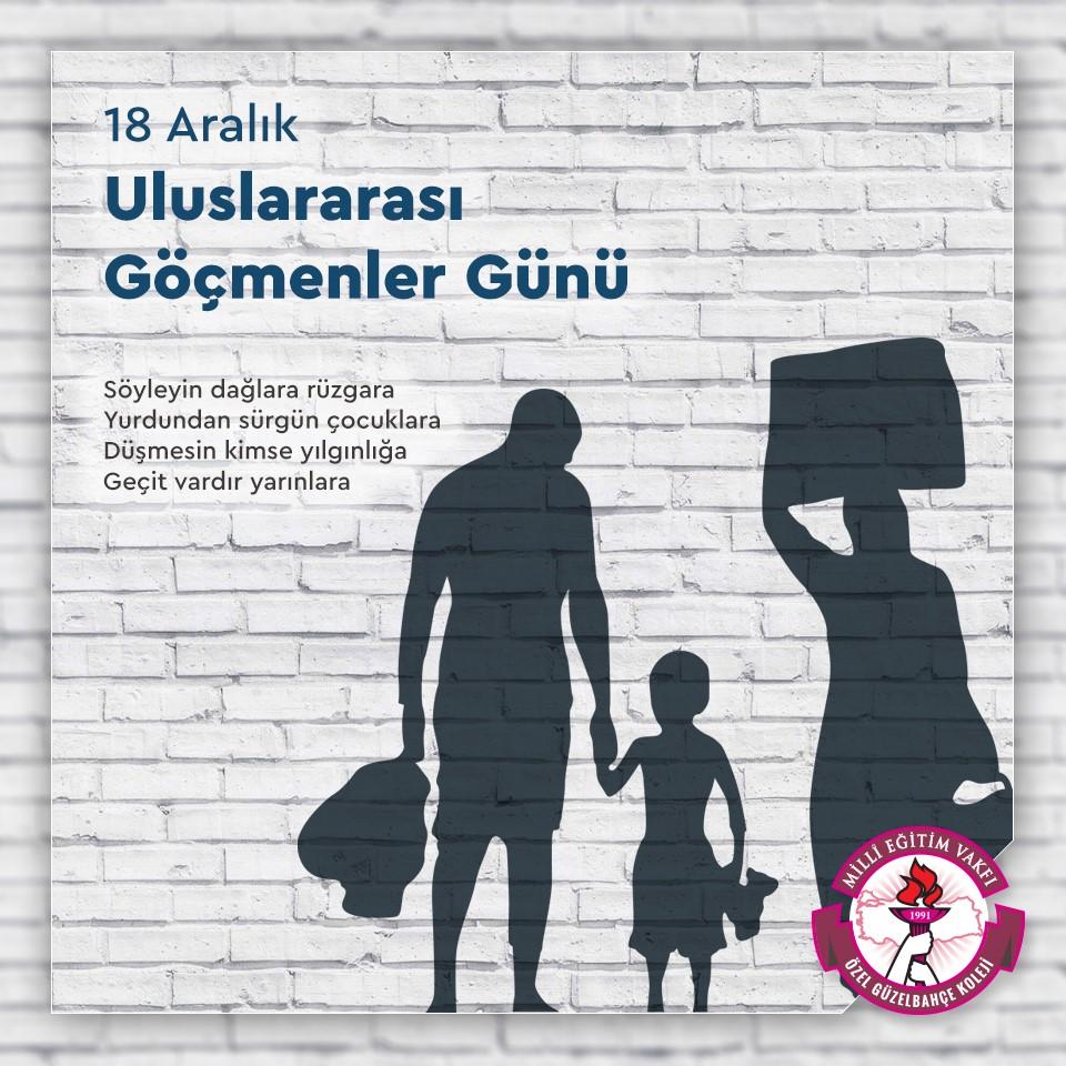 18 Aralık Uluslararası Göçmenler Günü