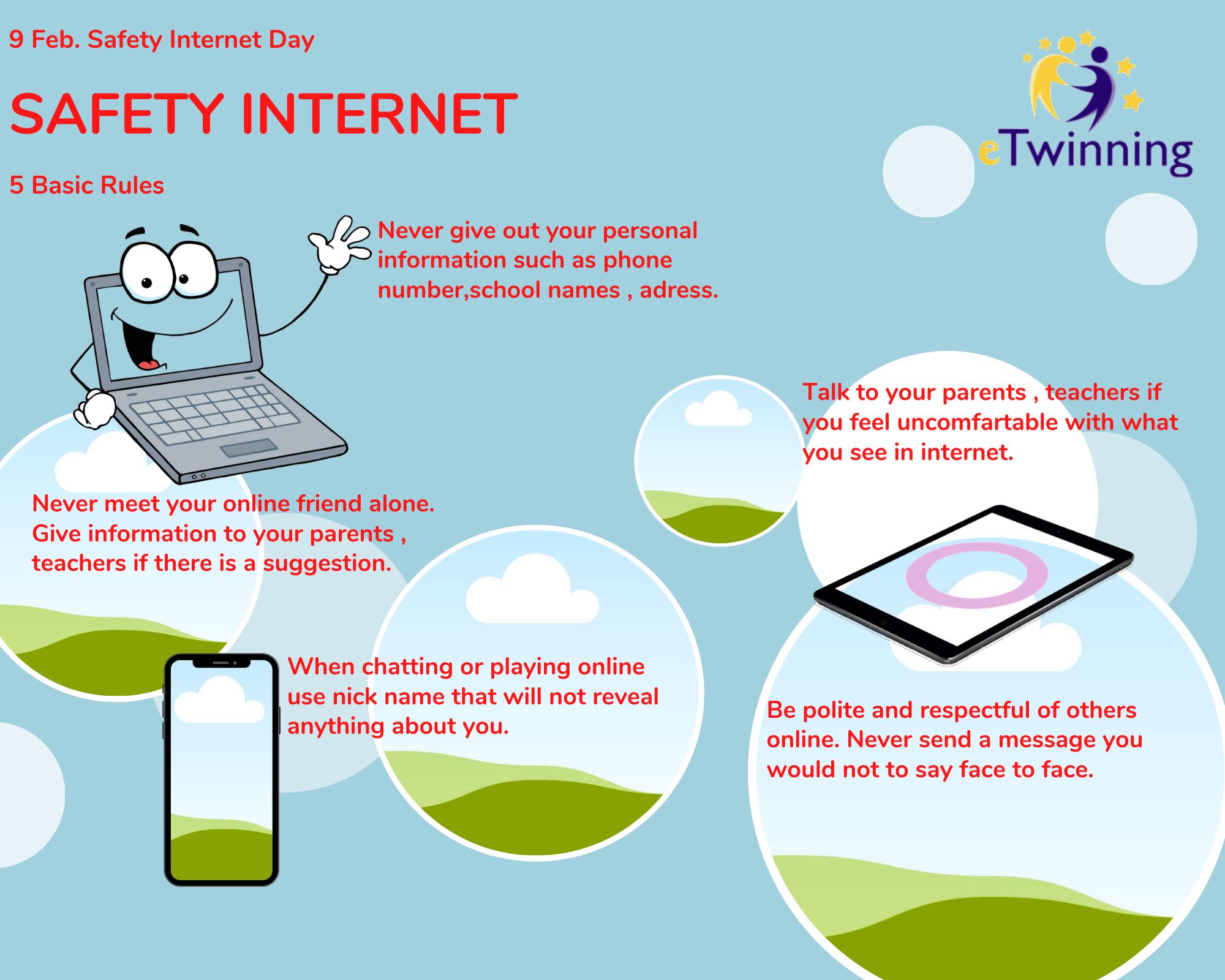 Güvenli İnternet Kullanımına Dikkat Çektiler