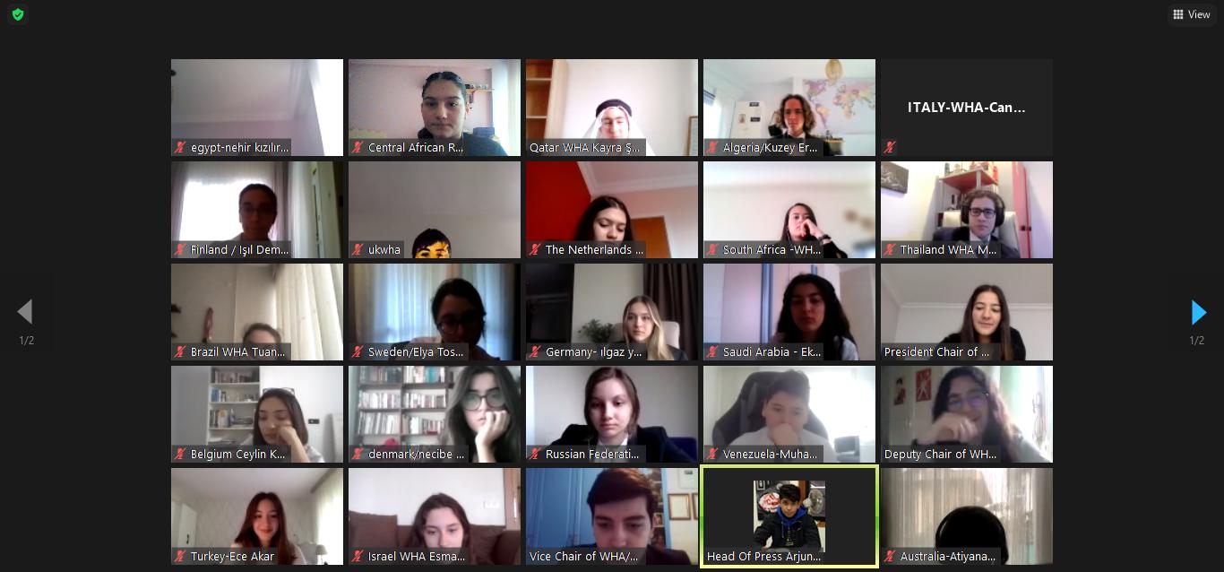 MEV MUN Kulübü Öğrencilerimiz MEFHIGHMUN Konferansında Okulumuzu Başarıyla Temsil Etti