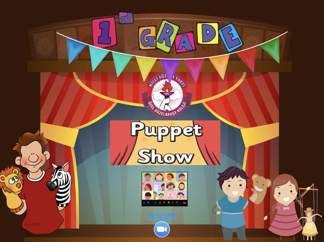 1st Grades Puppet Show Party