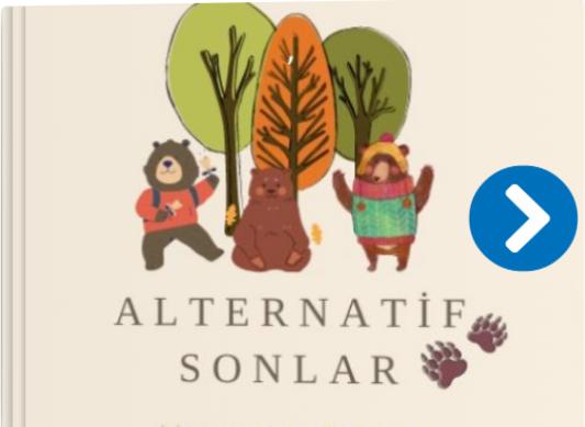 """""""Alternatif Sonlar"""" e-Twinning Projesinde Yaratıcı Düşünceler e-Kitaba Dönüştü"""