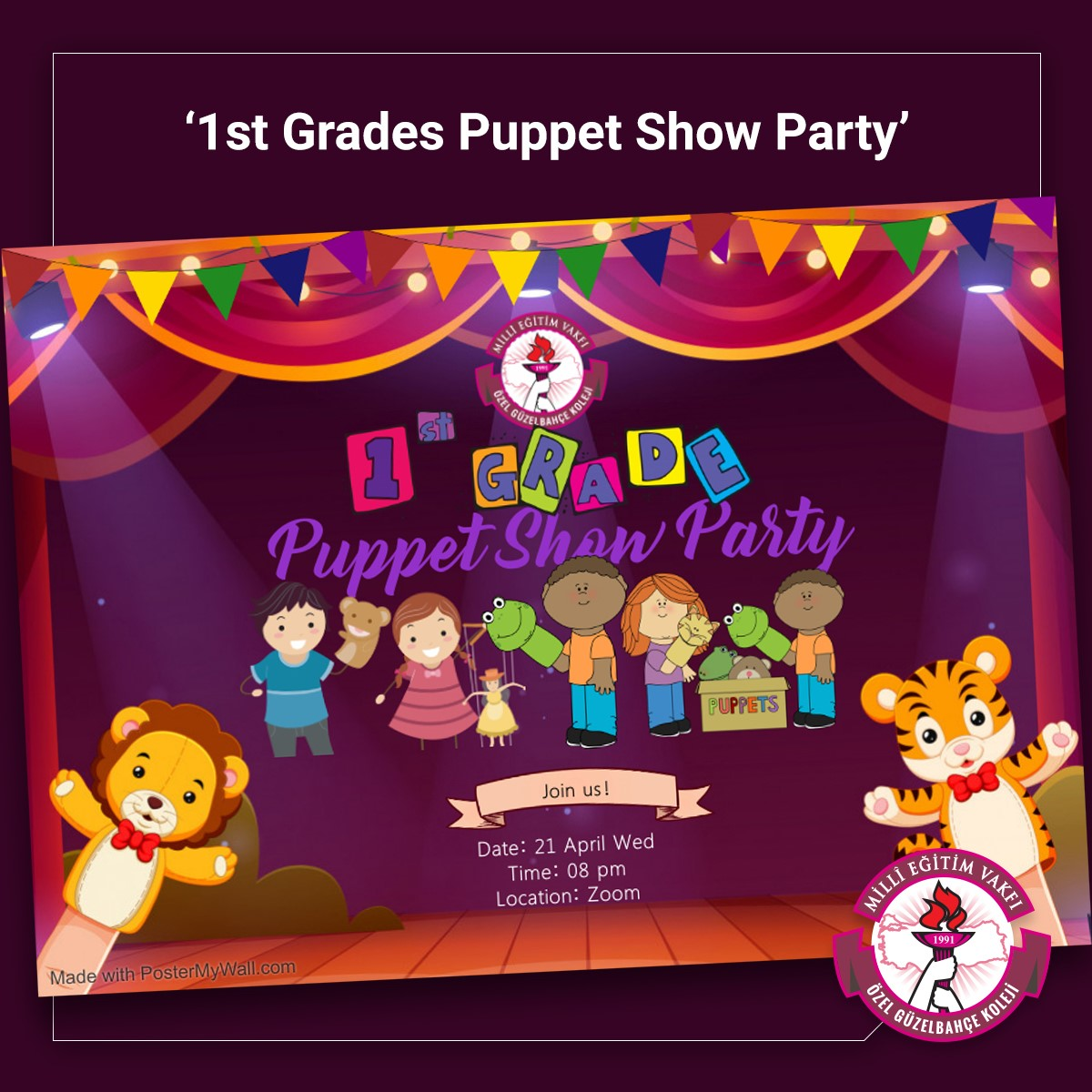 """""""Puppet Show Party"""""""