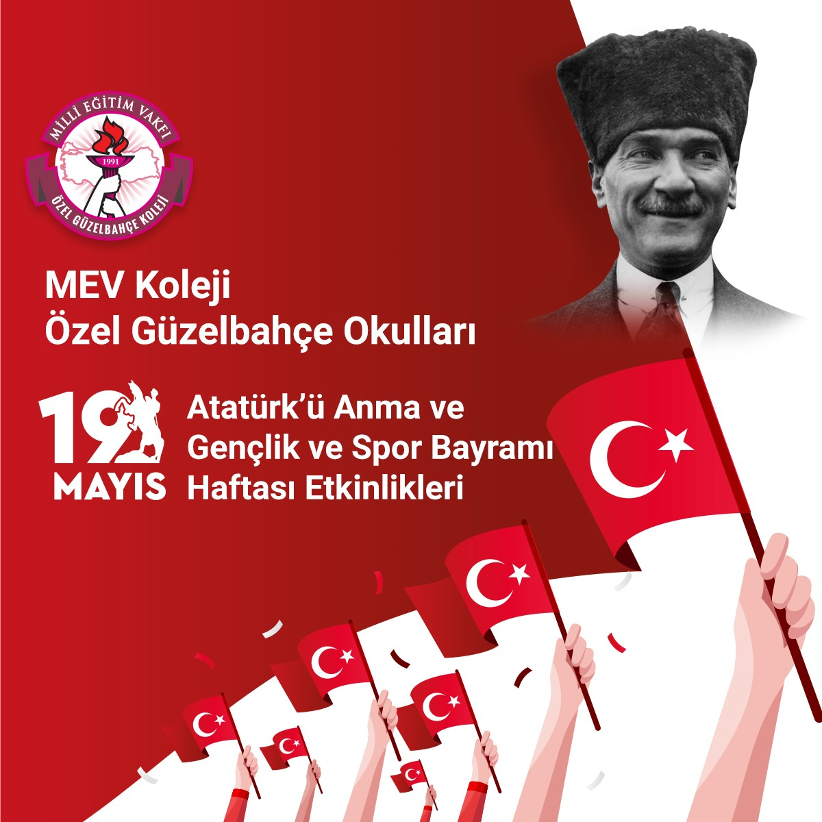 19 Mayıs Atatürk'ü Anma Gençlik ve Spor Bayramı Programı
