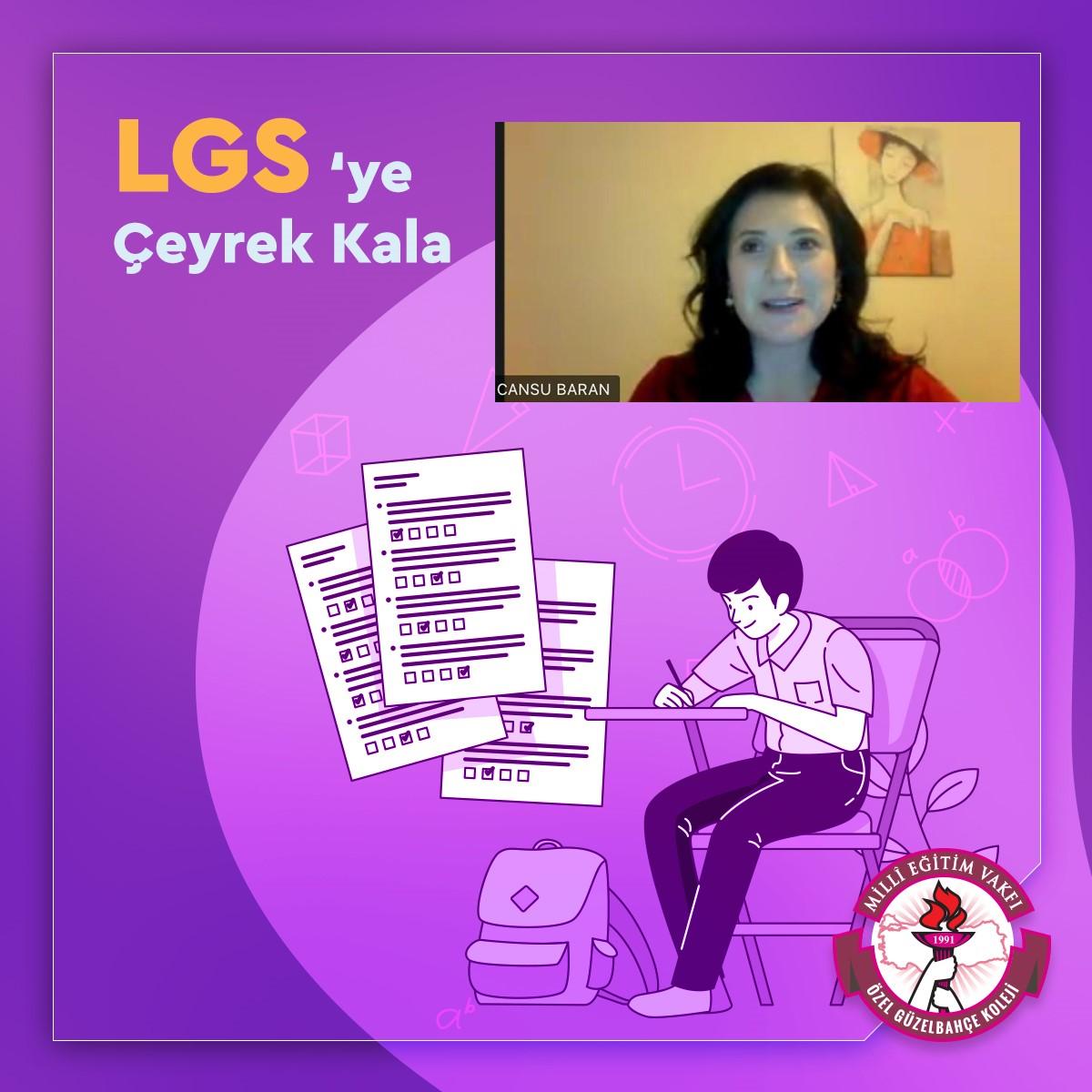 LGS'ye Çeyrek Kala