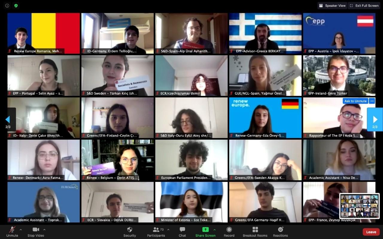 Öğrencilerimiz METU-EUROSIMA 21 Konferansındaydı