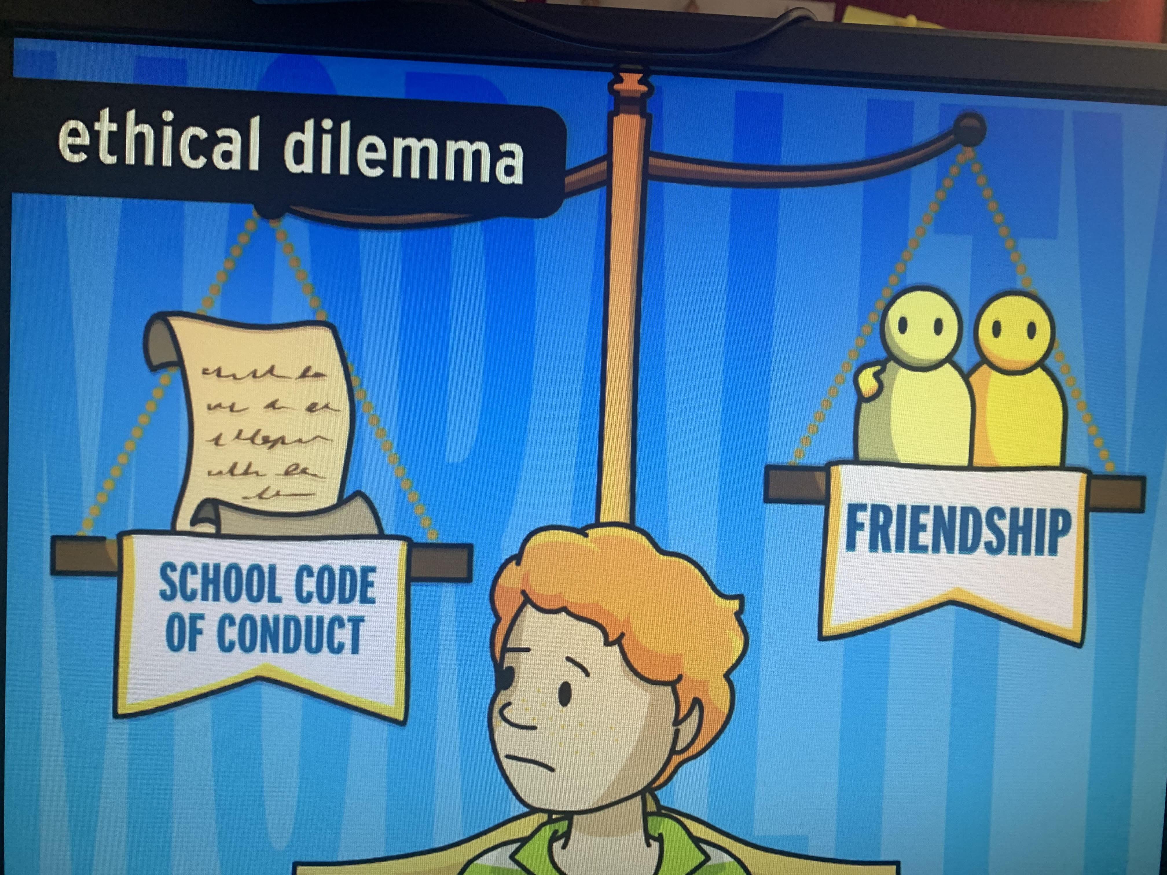 Etik Değerler İngilizce Derslerimizde de İşlendi