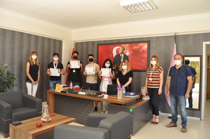 Öğrencilerimiz URFODU Altın Madalyalarını Aldı