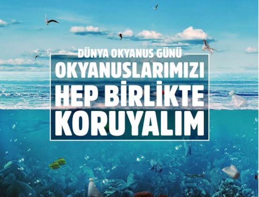 Hazırladıkları Afişlerle Okyanus Kirliliğine Dikkat Çektiler