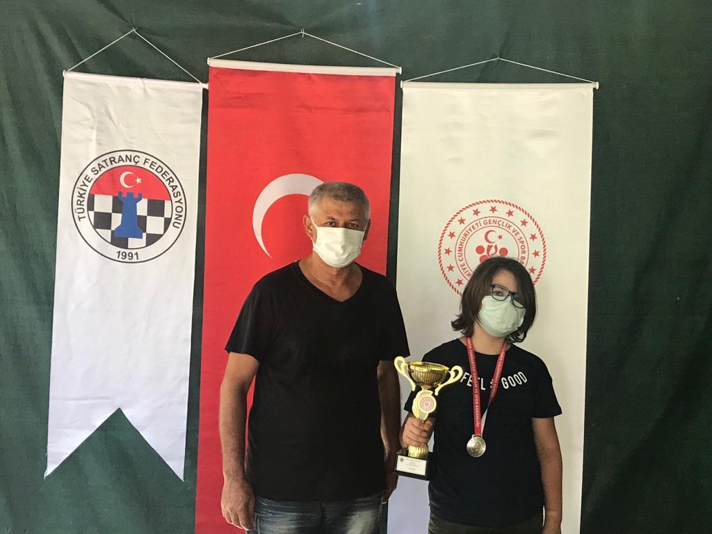 Öğrencimiz Erdem Yontar, Satrançta İzmir İkincisi