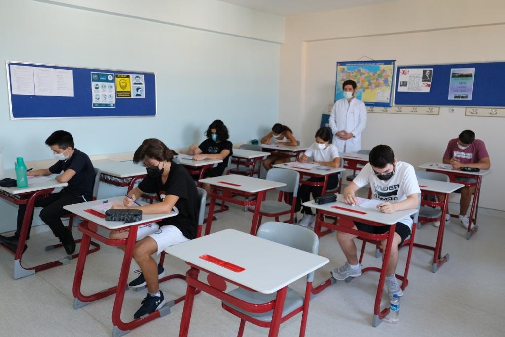 9. Sınıflarımız İngilizce Seviye Tespit Sınavına Katıldılar