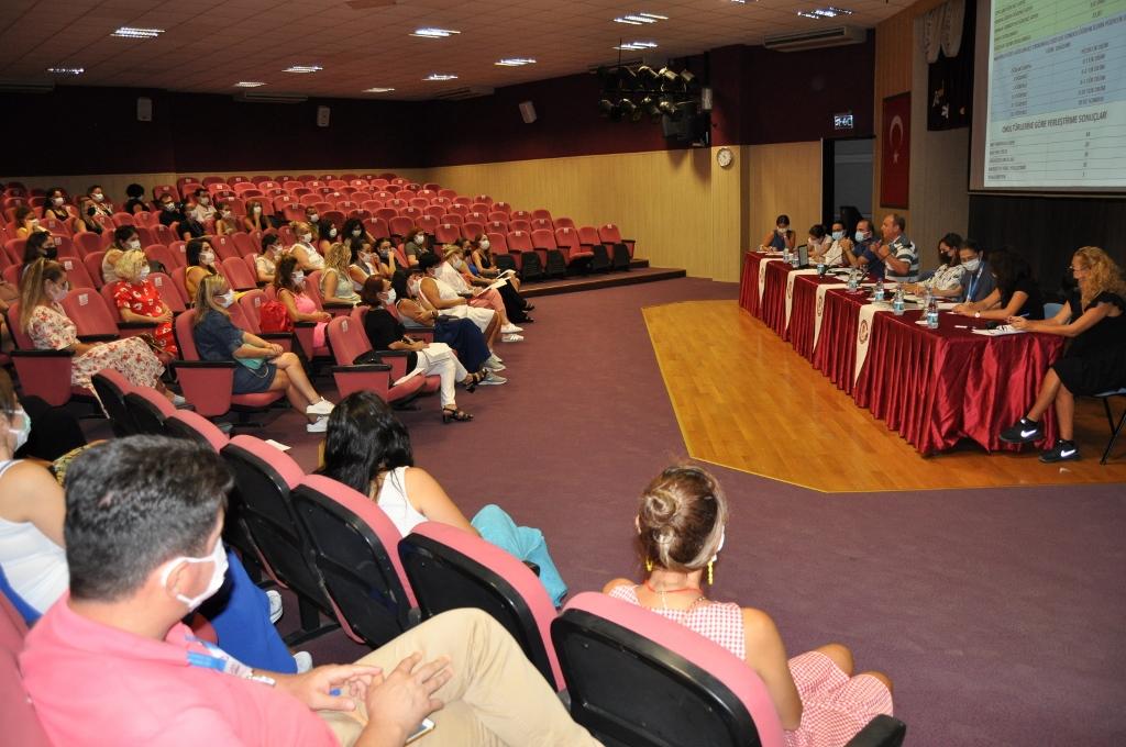 İlkokul ve Ortaokul Sene Başı Öğretmenler Kurulu Toplantısı Gerçekleştirildi