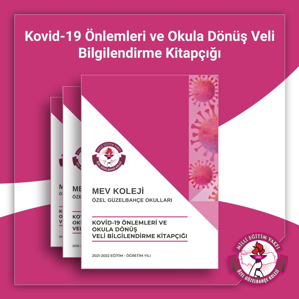 Kovid-19 Önlemleri ve Okula Dönüş Veli Bilgilendirme Kitapçığı