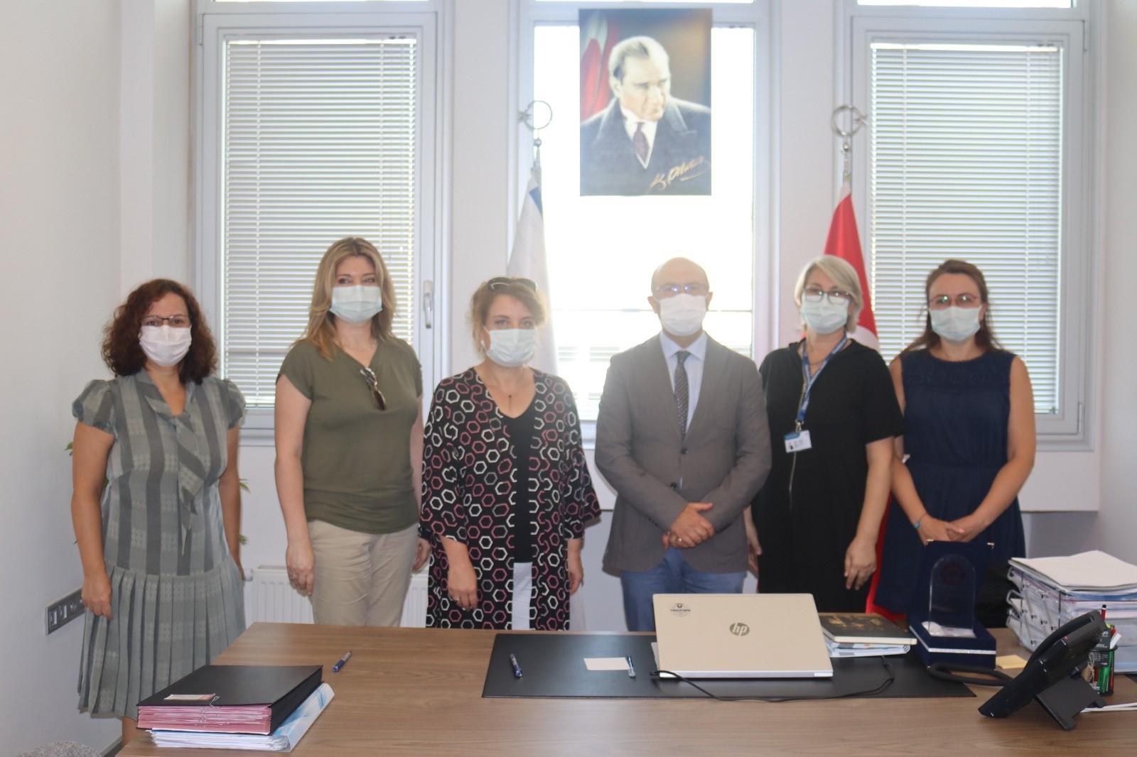 İzmir Tınaztepe Üniversitesi ile Bilimsel İşbirliği Protokolü İmzaladık